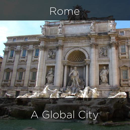 rome, a global city