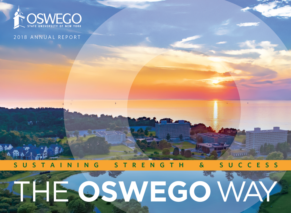 SUNY Oswego 2018 Annual Report: Sustaining Strength & Success - The Oswego Way