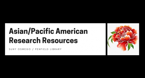 Asian/Pacific American Research Resources