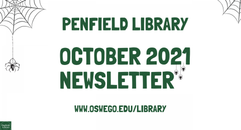 October 2021 Penfield Library Newsletter