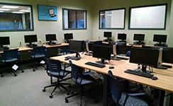 Penfield room 100A: The computer lab