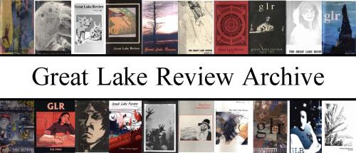 Past covers of Great Lake Review