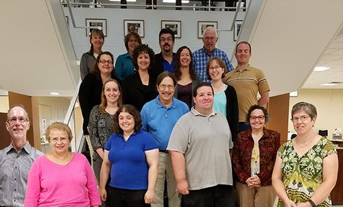 Some of Penfield's faculty librarians.