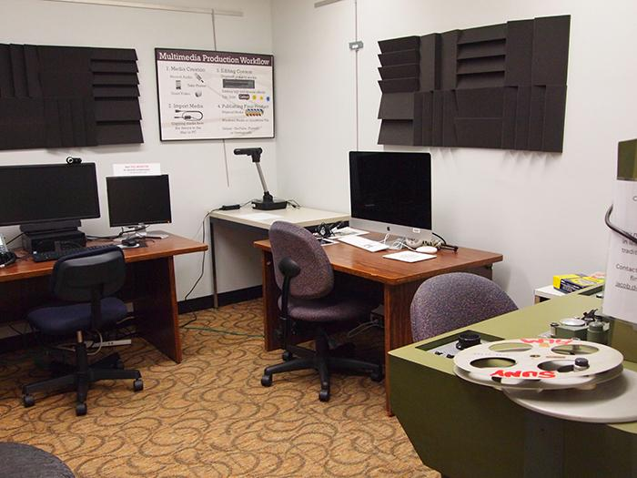 Multimedia Production Rooms Penfield Library