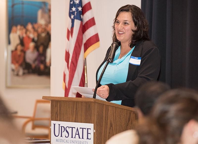 Lisa Glidden speaking