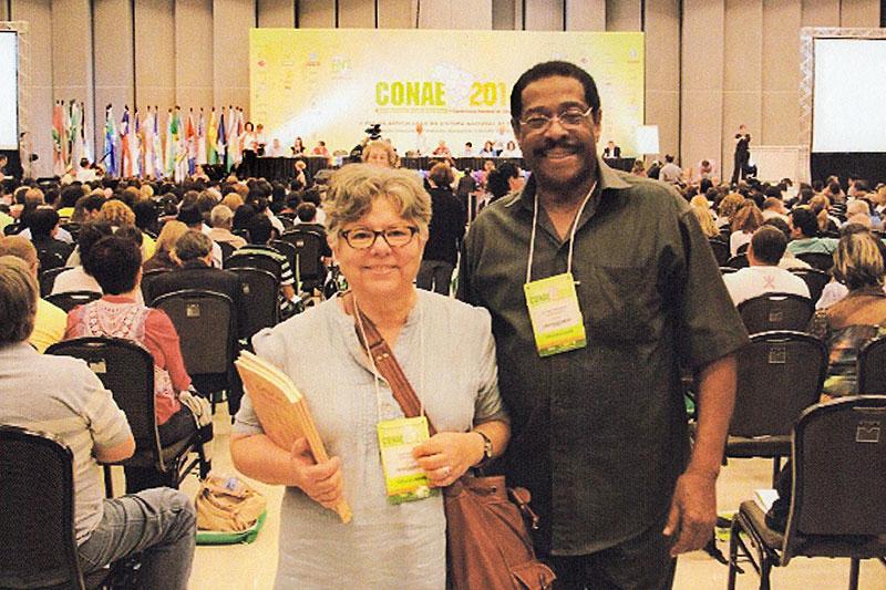 Tania Ramalho and Al Frederick