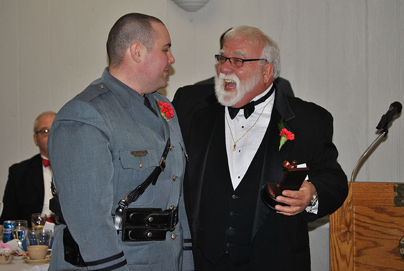 Brian McGuire receives award