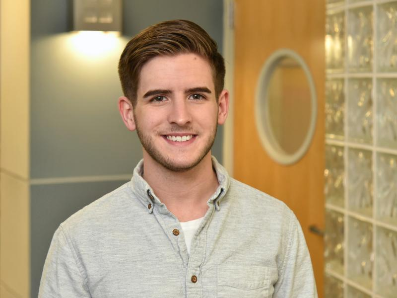 Chris Byrne is part of this year's record number of Fulbright student awardees
