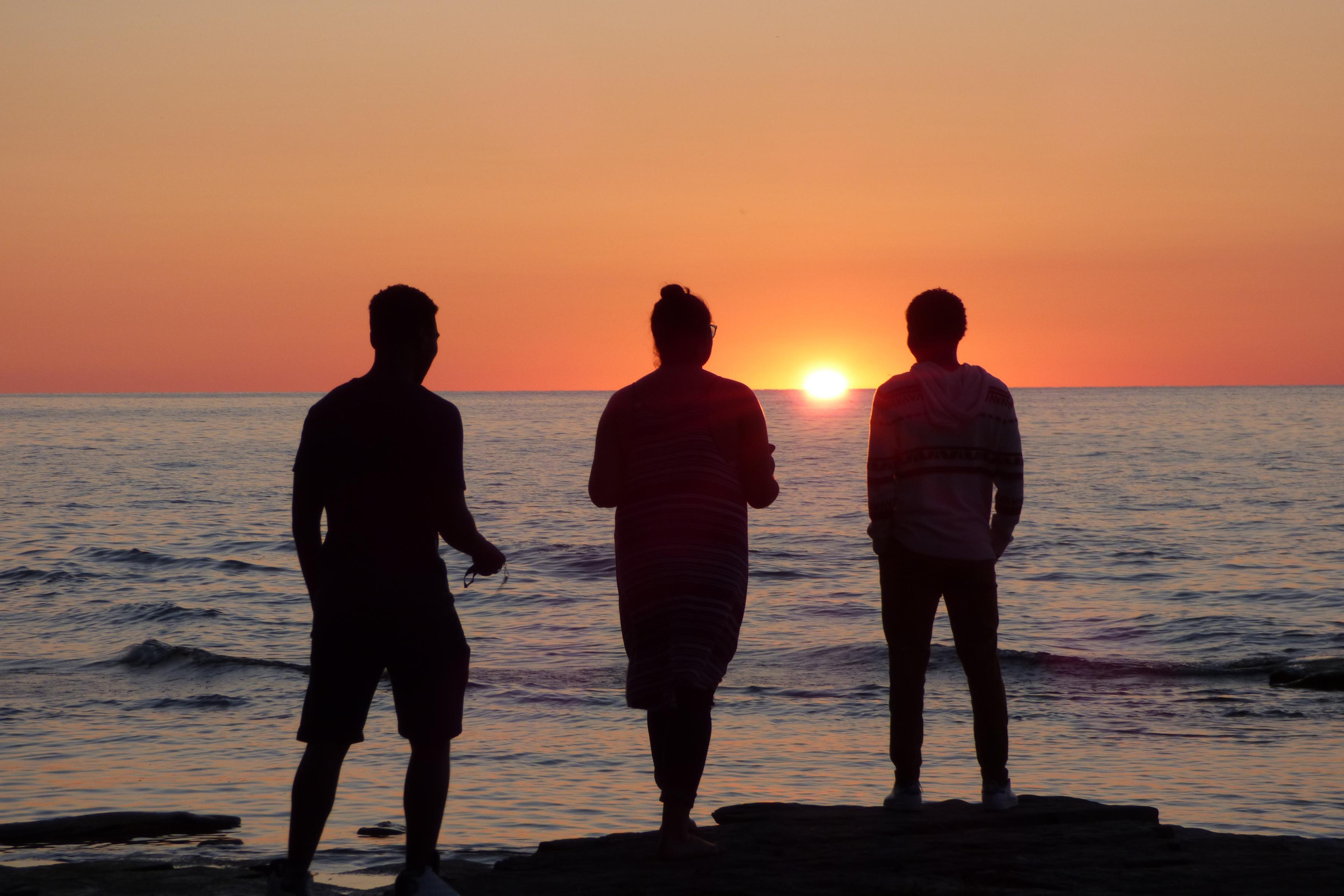 SUNY Oswego students enjoying summer on Lake Ontario