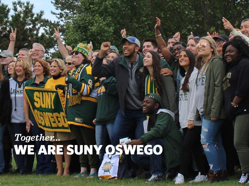 Students, faculty, staff and alumni gather for Together - We are SUNY Oswego photo