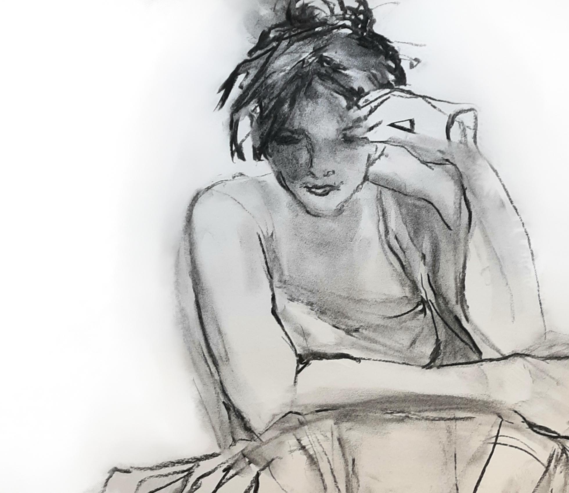 Soft Edge, a sketch by Suzanne Gaffney Beason