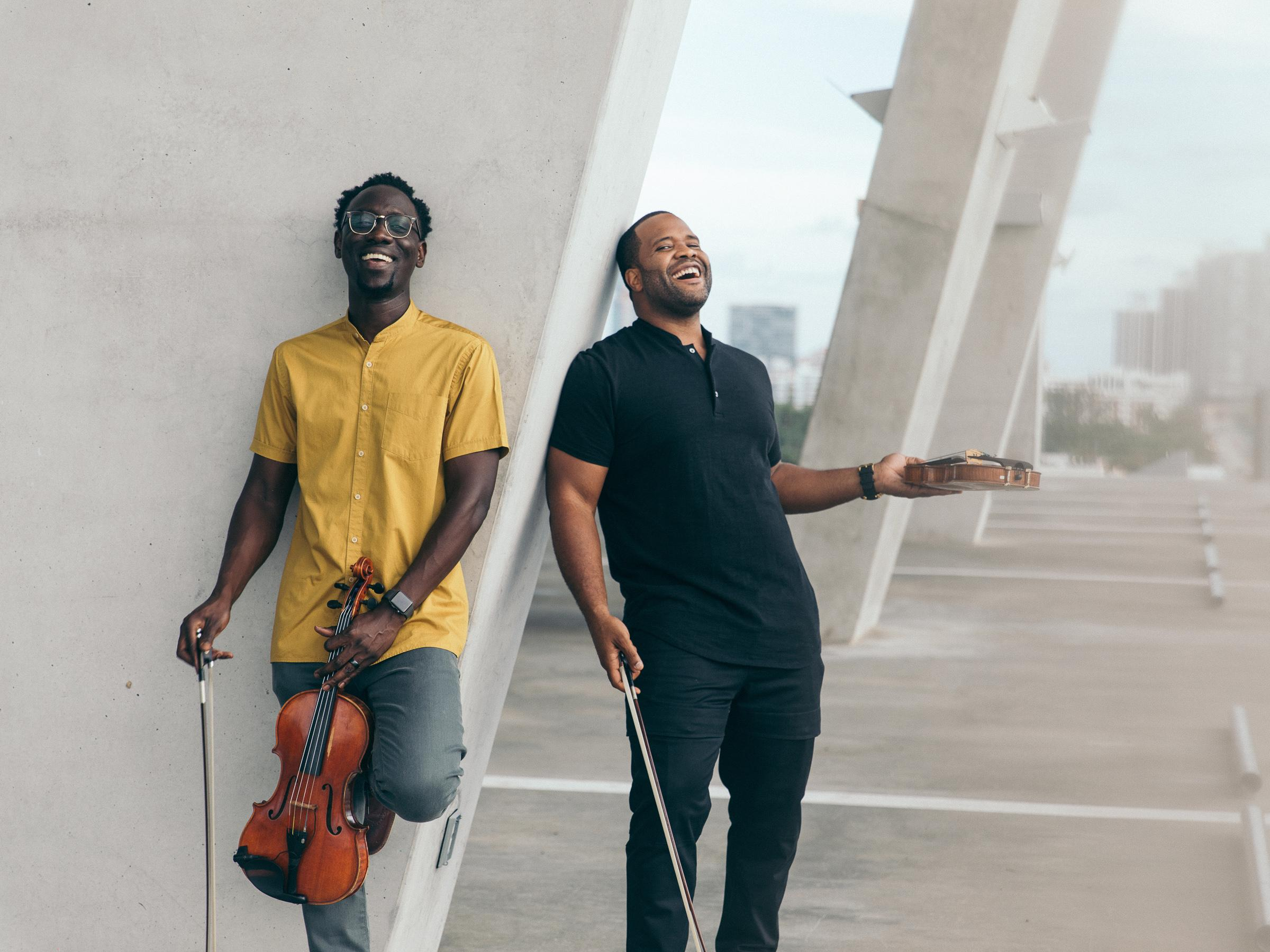 Black Violin merges classical with hip hop music