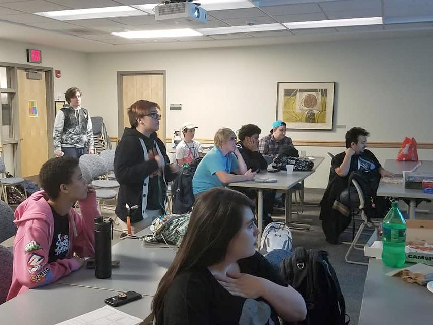 Students hold watch party for BlizzCon online gaming convention