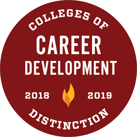 Colleges of Distinction Career Development badge