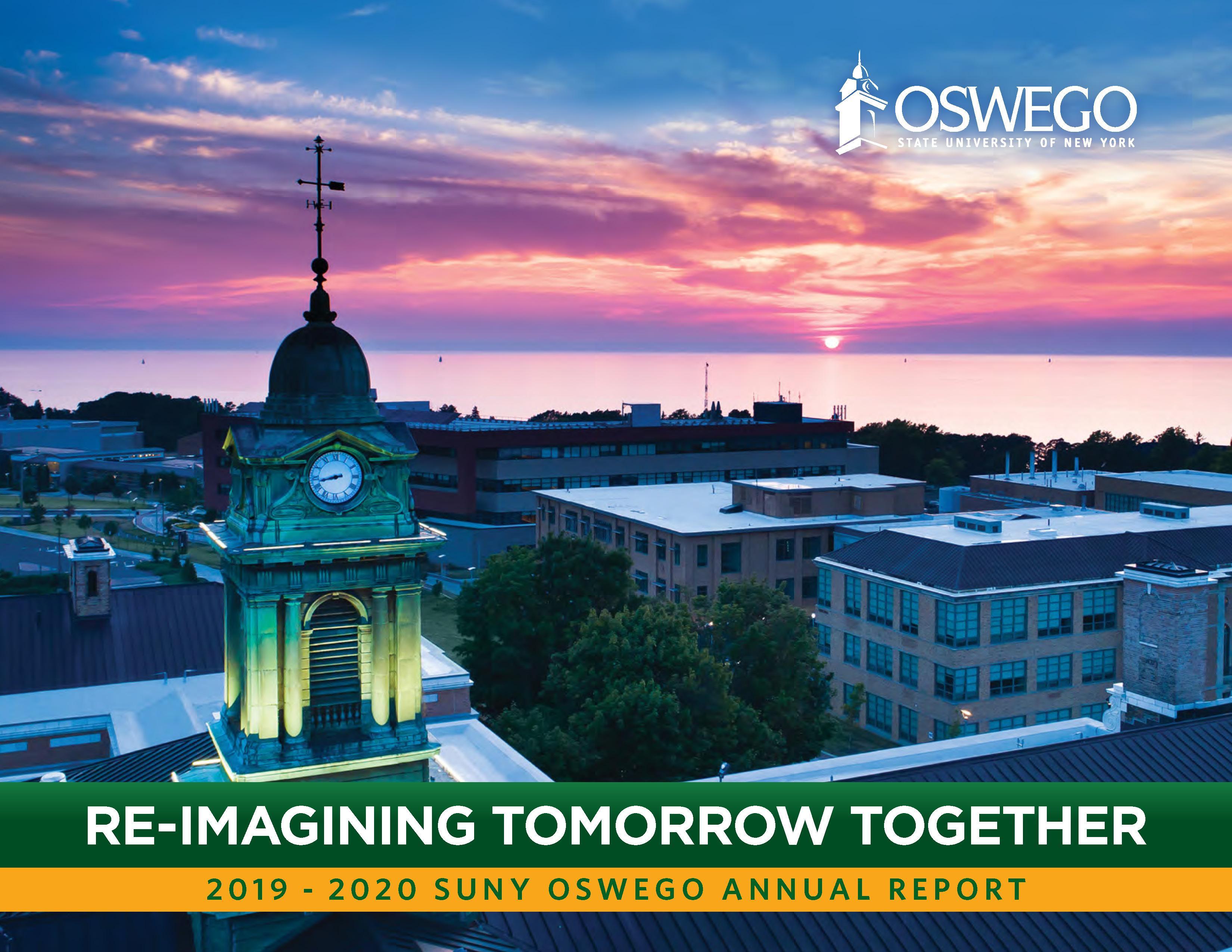 SUNY Oswego Annual Report cover