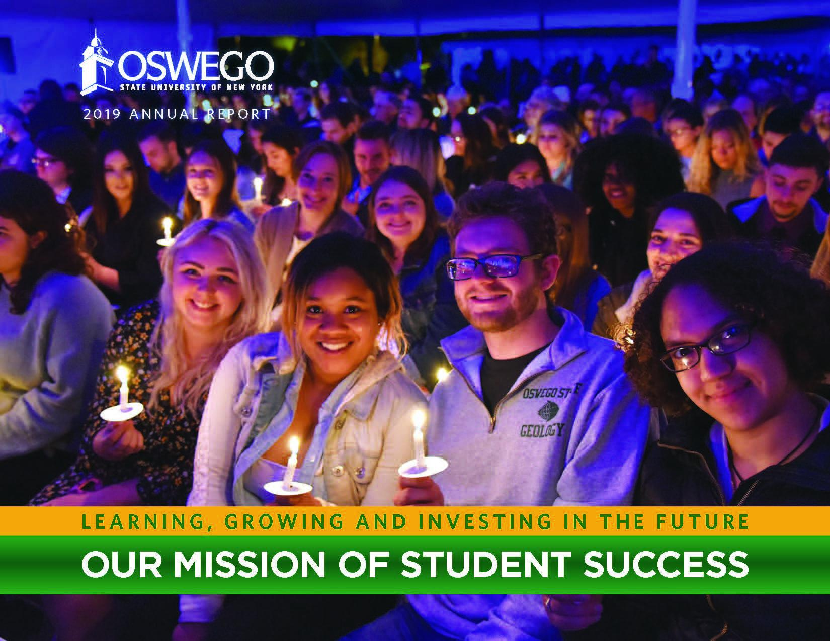 SUNY Oswego's 2018-2019 Annual Report: Learning, Growing and Investing in the Future