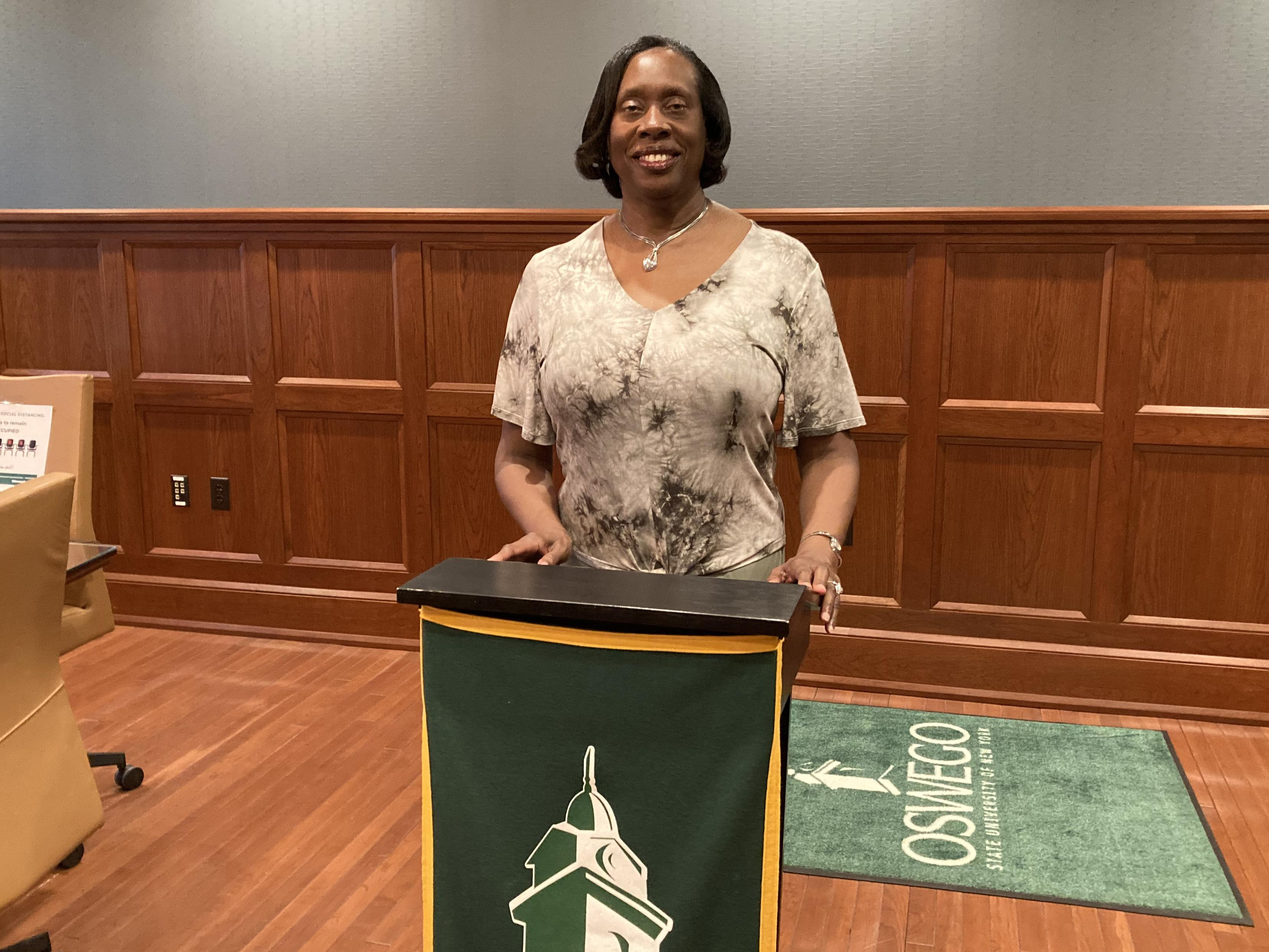 Alumna, educator, community leader and entrepreneur Phyllis Moore will serve as keynote speaker for Honors Convocation
