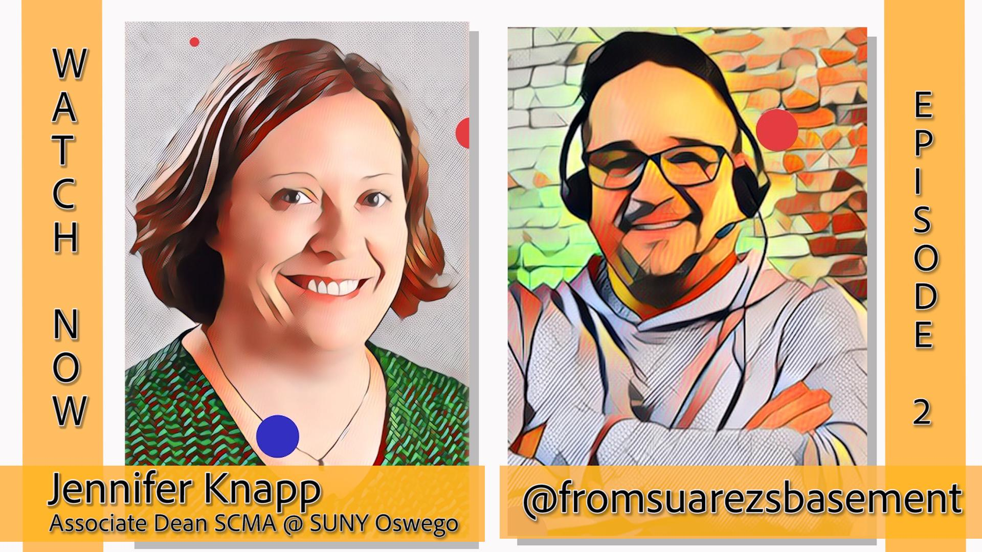 """From Suarez's Basement"" episode 2 features interview with Jennifer Knapp"