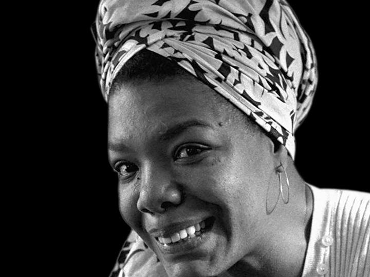 Poet, memoirist and civil rights activist Maya Angelou