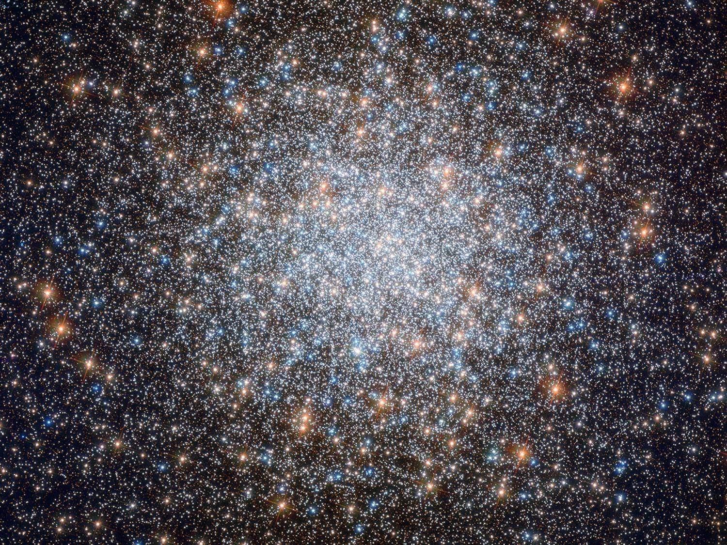 Image of a cloud cluster of Messier-3