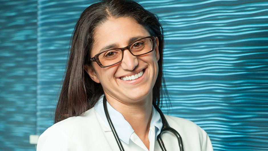 Mona Hanna Attisha is a pediatrician and Flint, Michigan, clean-water crusader