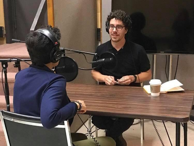 Brian Moritz interviewing Kate Fagan for his The Other 51 podcast