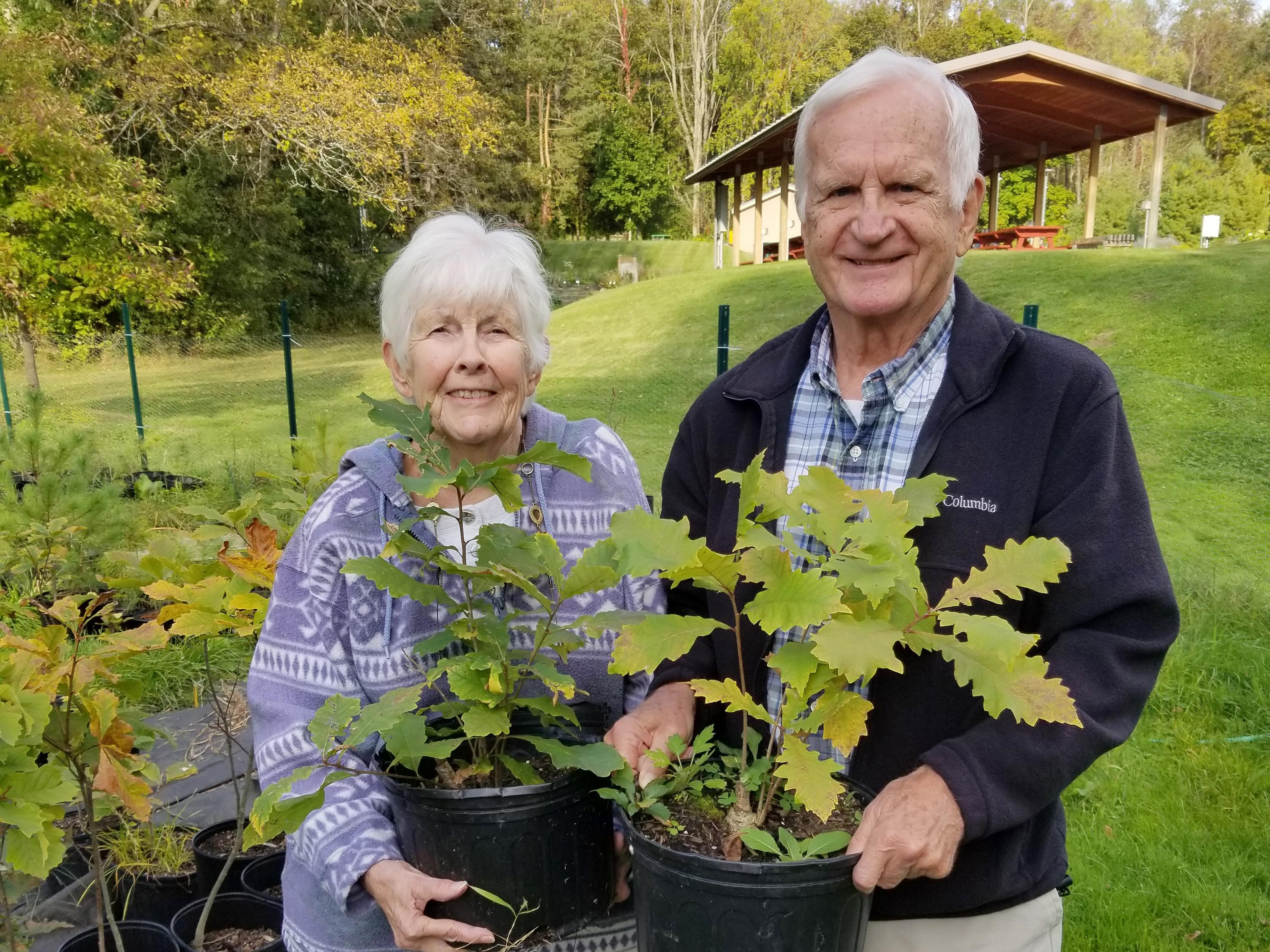 -- Jane and George Pauk recently pledged $5,000 per year for five years ($25,000 total) to the Canal Forest Restoration Project at SUNY Oswego's Rice Creek Field Station