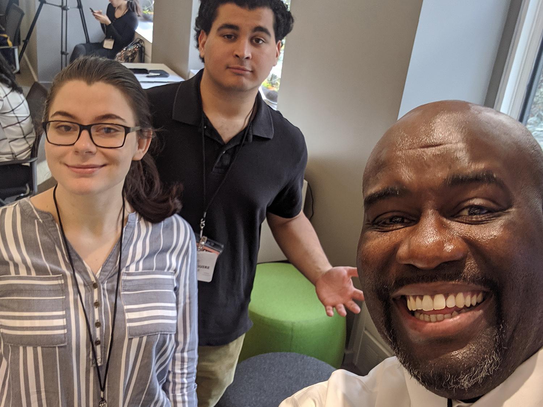 3 student filmmakers at prestigious PitchNY program