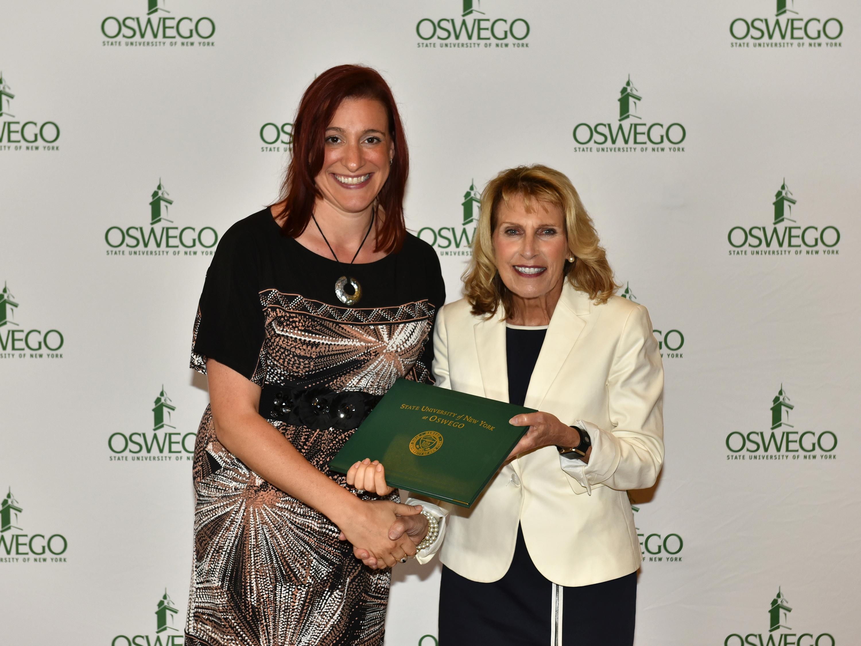 Jessica Reeher honored for outstanding teaching