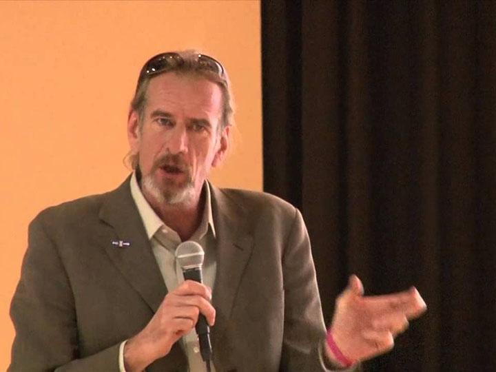 John-Michael Keyes, founder of the I Love U Guys foundation and the Standard Response Protocol