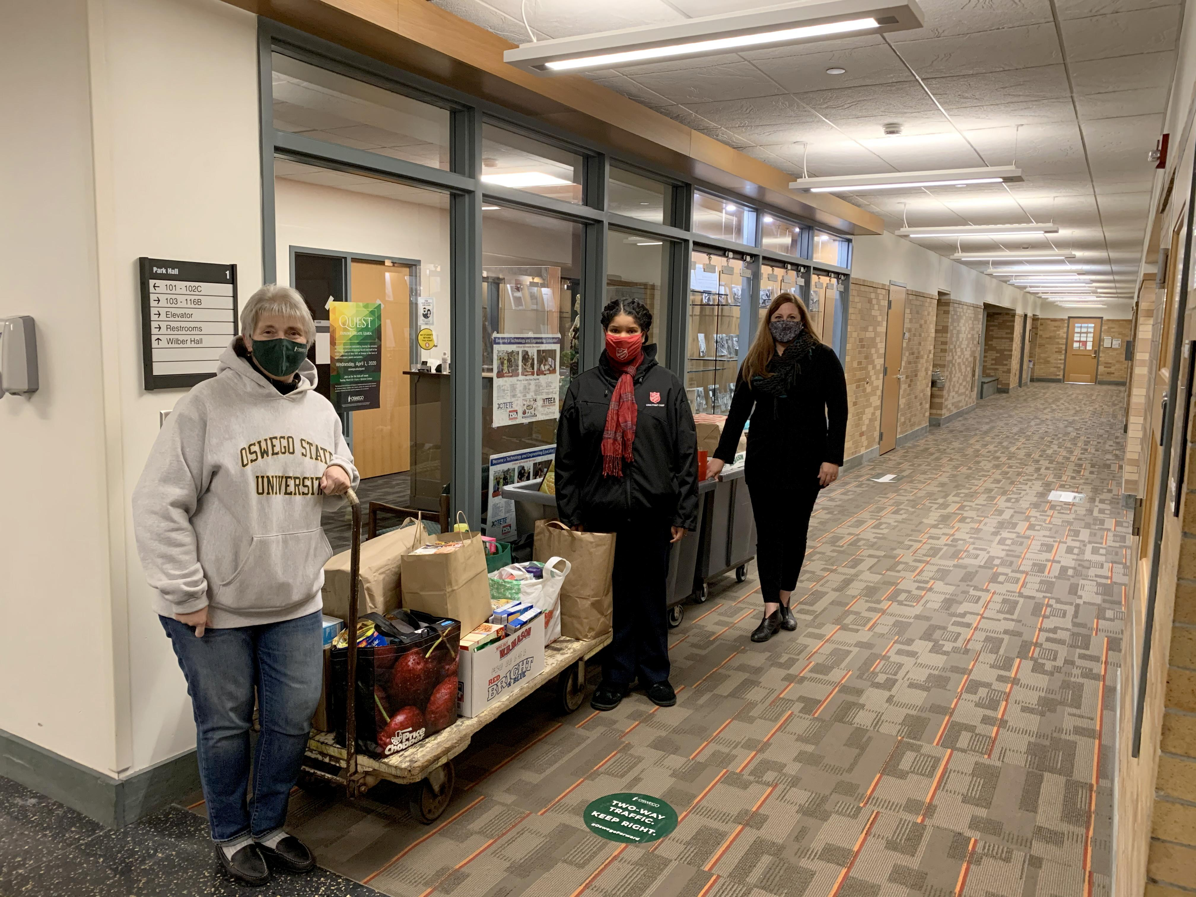 SUNY Oswego's SEFA campaign supports community causes include the Salvation Army and United Way