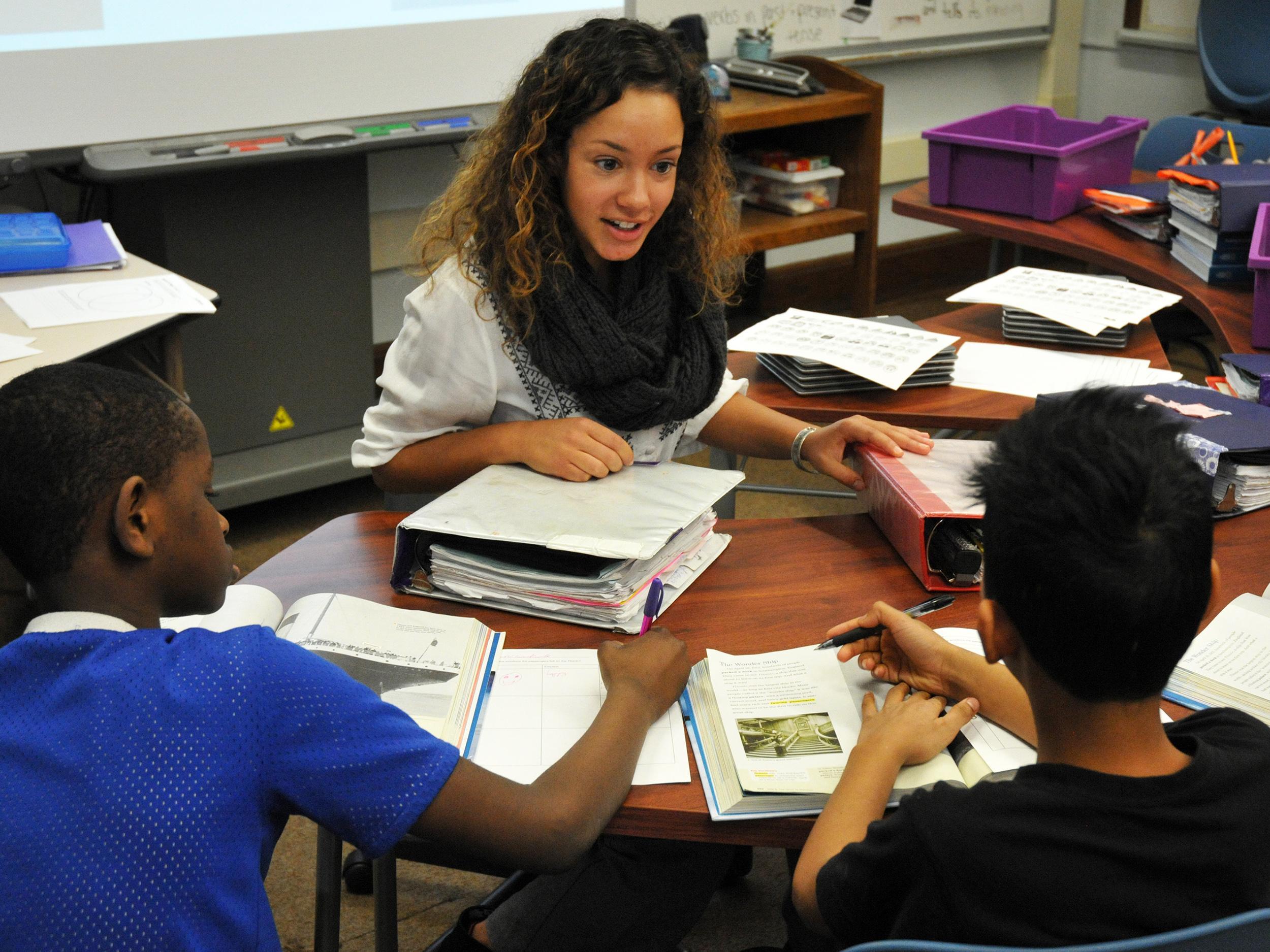 Madison Shaw teaching