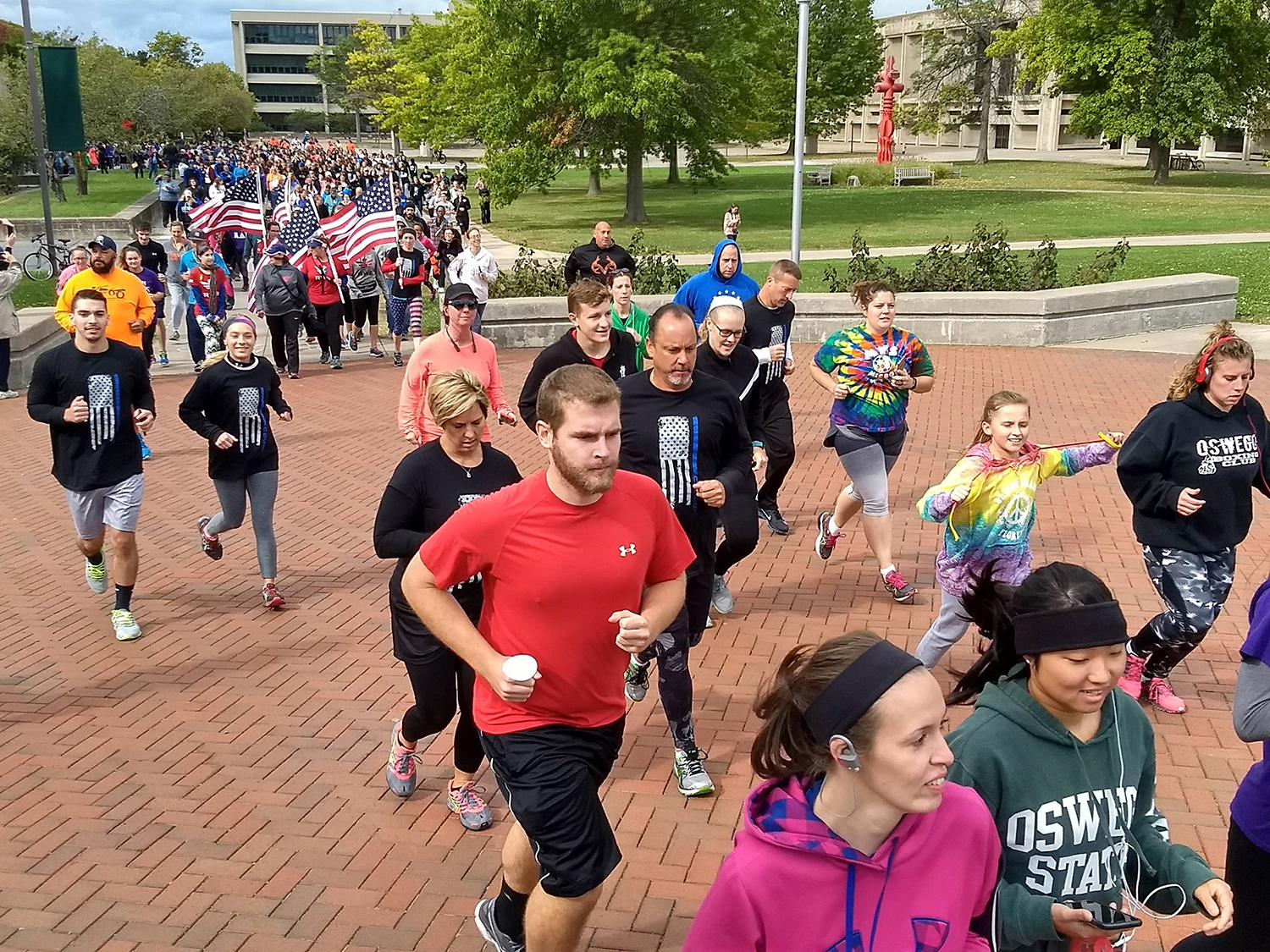 Runners take part in Stride of SAVE Lives