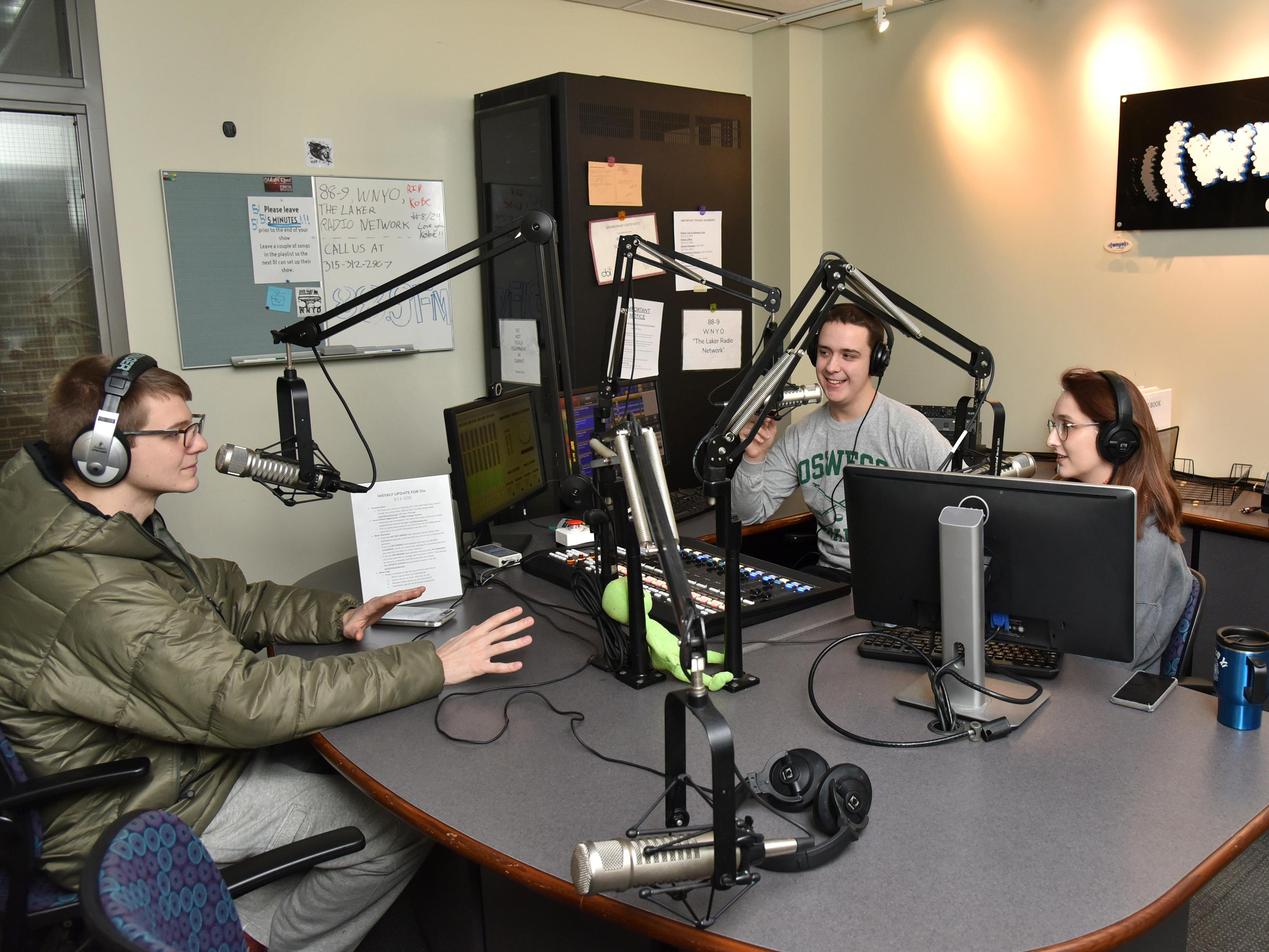 WNYO show Matt and Carl in the morning recently earned a national broadcasting award
