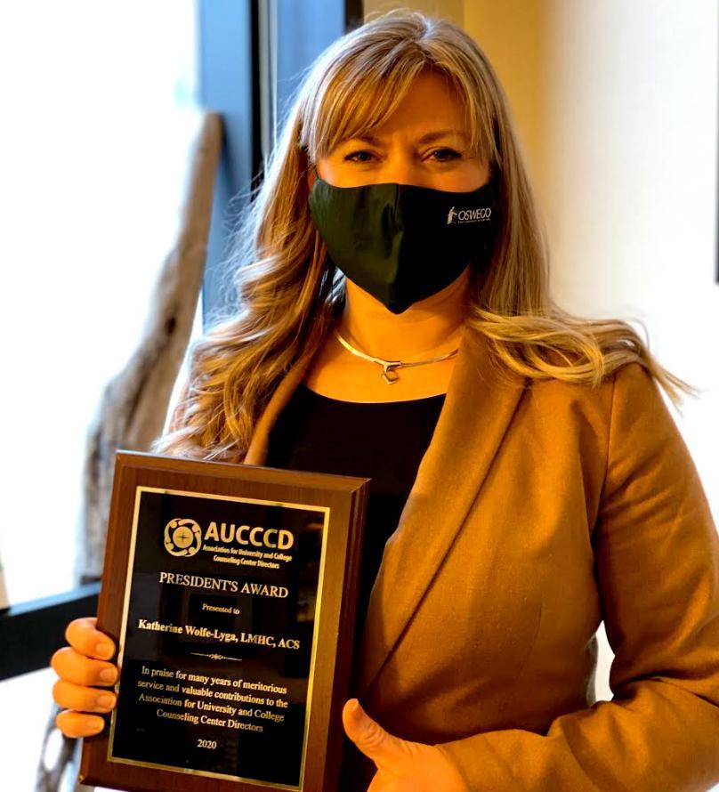 Kate Wolfe-Lyga wins national award