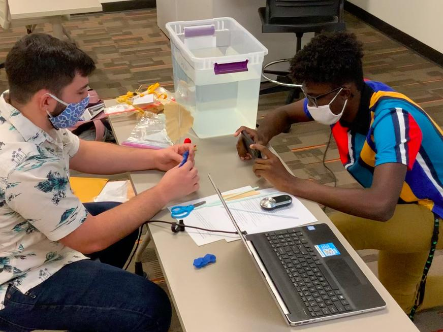Technology education students create a Young Inventors lesson