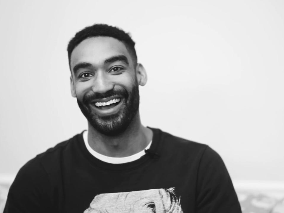 Zeke Thomas, a renowned DJ who speaks out in support of survivors of sexual violence
