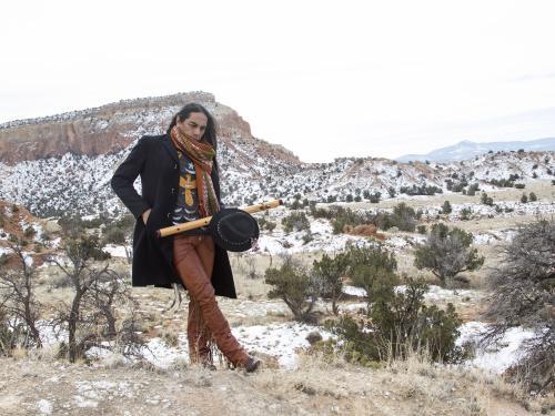 Robert Mirabal is a Native American singer, songwriter, poet and screenwriter