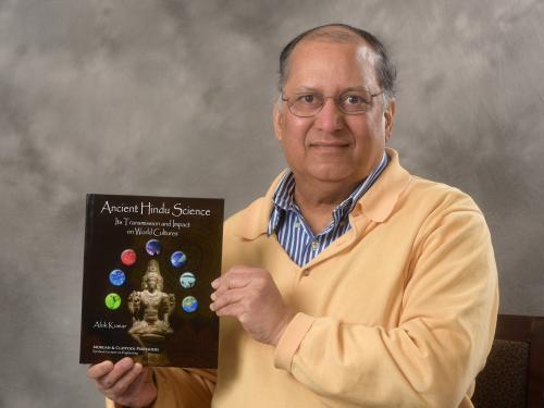 Alok Kumar with new book on Hindu historical influence on science