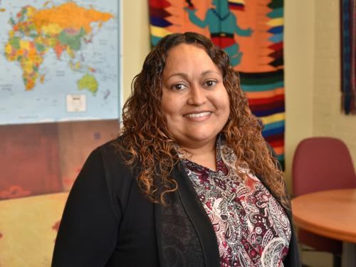 Lizette Alvarado was named a SUNY Hispanic Leadership Institute fellow