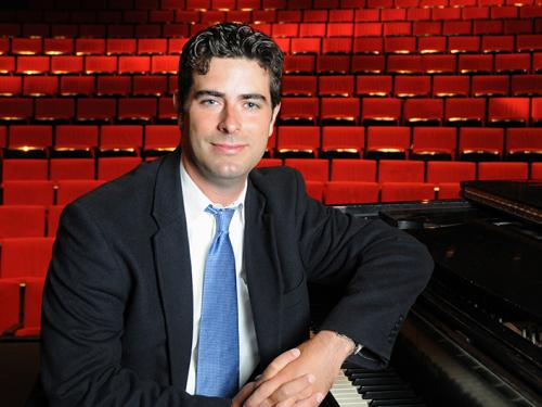 Music professor, Robert Auler