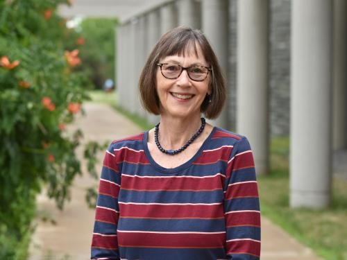 Barbara St. Michel of Campus Life earned a Chancellor's Award for Excellence in Professional Service