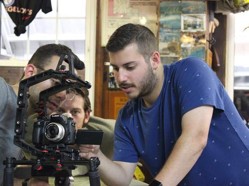 Three Oswego graduates -- Andrew Nimetz, Derrick Benton and Victoria Diana -- were among the grand prize winners who each received $40,000 to bring their scripts to life through the CNY Short Film Competition