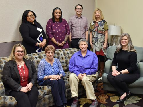 Staff of the Counseling Services Center stand ready to help students