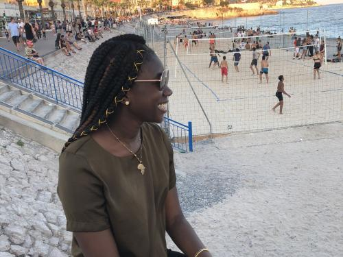 Fadi Gaye pursued a study-abroad opportunity in Benin, West Africa, and in Paris, one of many ways she has maximized her Oswego education