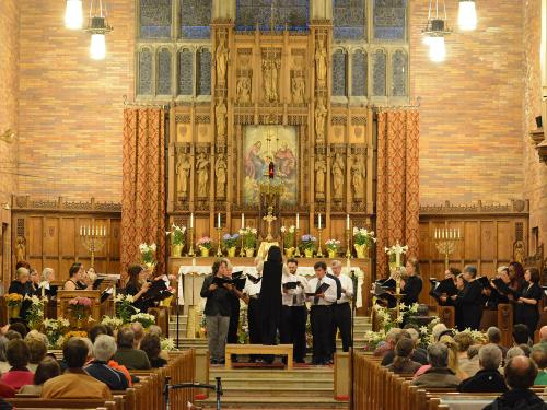 Festival Chorus performs at St. Mary's church