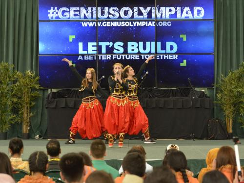 Dancers at GENIUS Olympiad