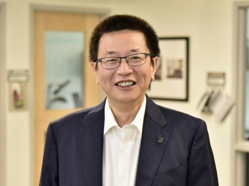 Harrison Yang has earned the SUNY Distinguished Teaching Professor honor