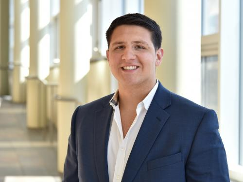 Joseph DiLuca named Civic Fellow for his outstanding community service