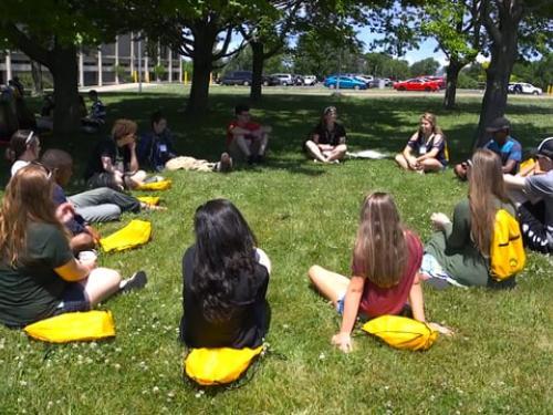 Orientation at SUNY Oswego